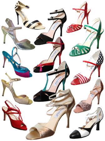 Танго обувь, танго одежда - Школа аргентинского танго